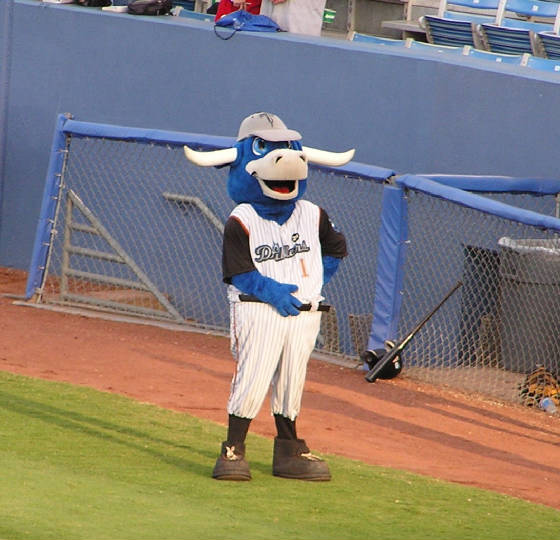 Hornsby, the Tulsa Drillers mascot